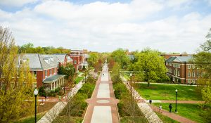 Breathtaking View of The UNCG Campus