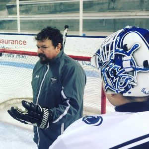 Ted Monnich premiere hockey goalie coach